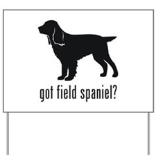 Field Spaniel 1 Yard Sign