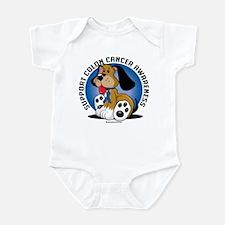 Colon Cancer Dog Infant Bodysuit