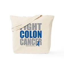 Fight Colon Cancer Tote Bag