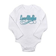 Just A Love Muffin Long Sleeve Infant Bodysuit