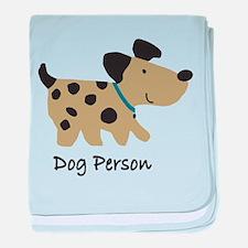 Dog Person Infant Blanket