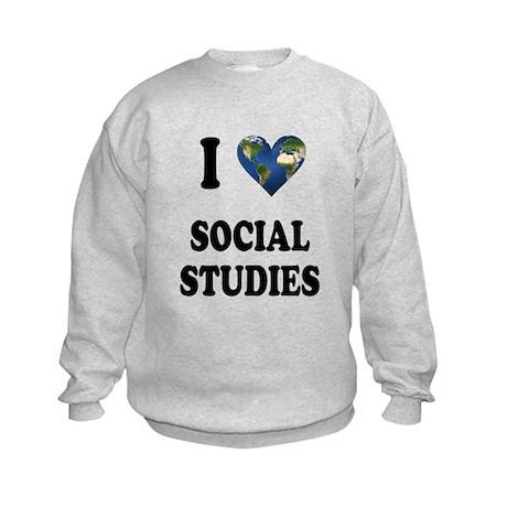 I Love School Shirts Gifts Kids Sweatshirt