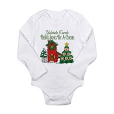 Christmas Carol Series Long Sleeve Infant Bodysuit