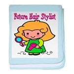 Future Hair Stylist Infant Blanket