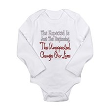Unexpected Long Sleeve Infant Bodysuit