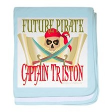 Triston Pirate Infant Blanket