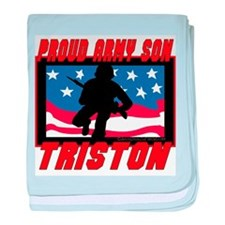 Triston Proud Son Infant Blanket