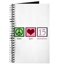 Peace Love Fifteen Journal