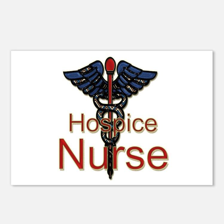 Cute Hospice nurse Postcards (Package of 8)