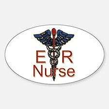 Male doctor Sticker (Oval 10 pk)