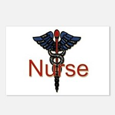 Funny Hospice nurse Postcards (Package of 8)