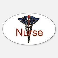 Male doctor Sticker (Oval)