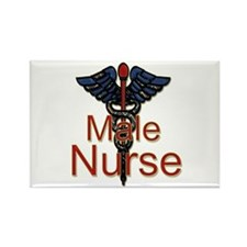 Unique Hospice nursing Rectangle Magnet