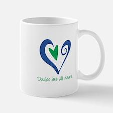 Doulas All Heart Green Mug