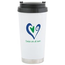 Doulas All Heart Green Travel Mug