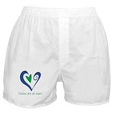 Doulas All Heart Green Boxer Shorts