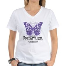 Support Fibromyalgia Butterfl Shirt