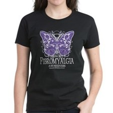 Support Fibromyalgia Butterfl Tee