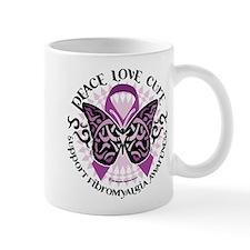 Fibromyalgia Butterfly Tribal Mug