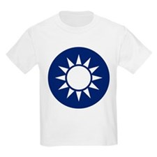 Taiwan Coat of Arms Kids T-Shirt