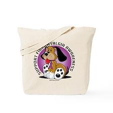 Fibromyalgia Dog Tote Bag
