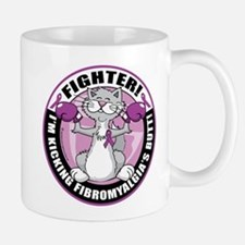 Fibromyalgia Cat Fighter Mug