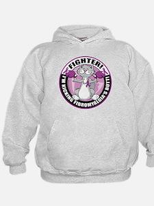 Fibromyalgia Cat Fighter Hoodie