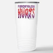 Fibromyalgia Hurts Stainless Steel Travel Mug