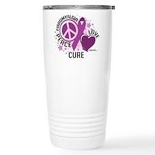 Fibromyalgia P.L.C Travel Coffee Mug