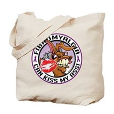 Fibromyalgia Can Kiss My Ass Tote Bag