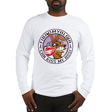 Fibromyalgia Can Kiss My Ass Long Sleeve T-Shirt