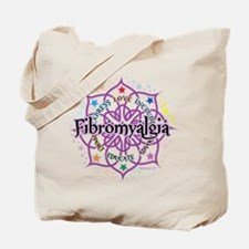 Fibromyalgia Lotus Tote Bag