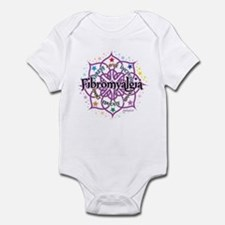 Fibromyalgia Lotus Infant Bodysuit