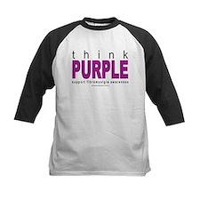 Think Purple Fibromyalgia Tee