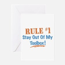 Toolbox Rules Greeting Cards (Pk of 20)
