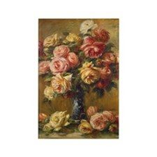 Renoir_Pierre-Auguste-ZZZ-Roses_in_a_Vase Magnets