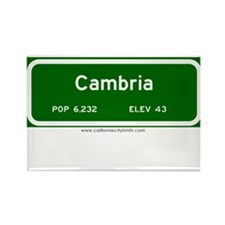 Cambria Rectangle Magnet