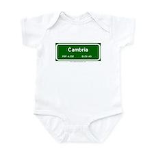 Cambria Infant Bodysuit