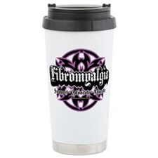 Fibromyalgia Tribal Travel Coffee Mug