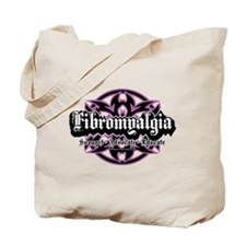 Fibromyalgia Tribal Tote Bag