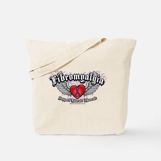 Fibromyalgia Wings Tote Bag