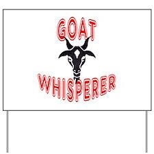 Goat Whisperer Yard Sign