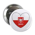 Polska / Polish Flag Button