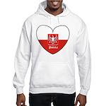 Polska / Polish Flag Hooded Sweatshirt
