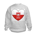 Polska / Polish Flag Kids Sweatshirt
