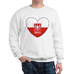 Polska / Polish Flag Sweatshirt