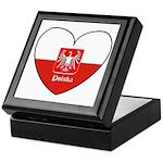 Polska / Polish Flag Keepsake Box
