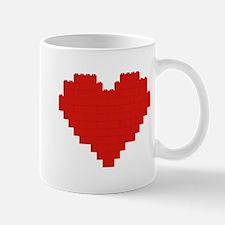 I heart building blocks Mug