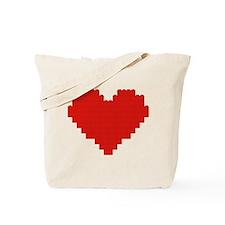 I heart building blocks Tote Bag