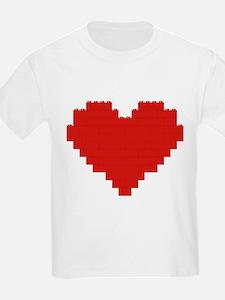 I heart building blocks T-Shirt
